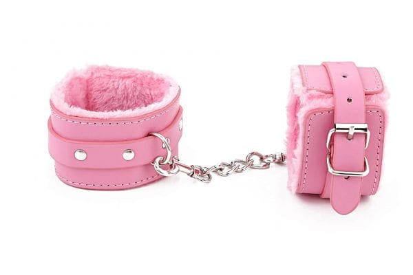 còng tay sm màu hồng