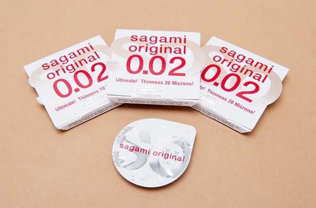 Bao cao su siêu mỏng loại sagami